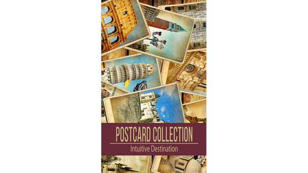 Vortex Magic Presents Intuitive Destination by Philip Ryan - (Invisible Deck Postcards)