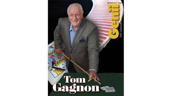 "Genii Magazine ""Tom Gagnon"" September 2019 - Book"