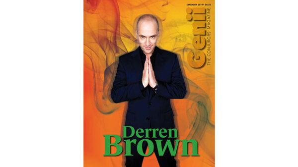 """Genii Magazine """"Derren Brown"""" December 2019 - Book"""
