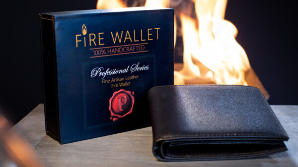 The Professional's Fire Wallet by Murphy's Magic Supplies Inc.