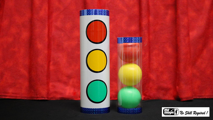 Joker Ball and Tube (Small) by Mr. Magic