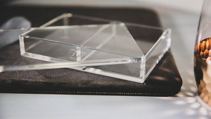 Crystal Playing Card Display 2 Deck Case by TCC