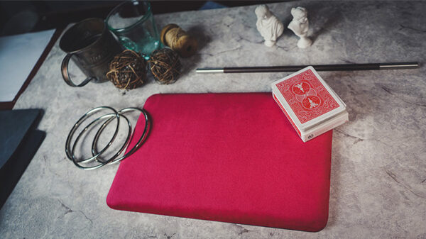 Suede Leather Mini Pad (Red) by TCC