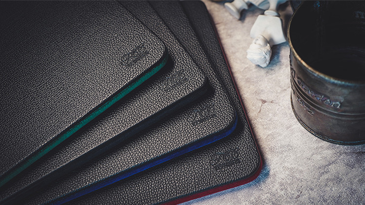 Suede Leather Mini Pad (Black) by TCC