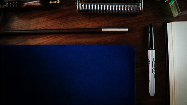 Suede Leather Small Pad (Blue) by TCC