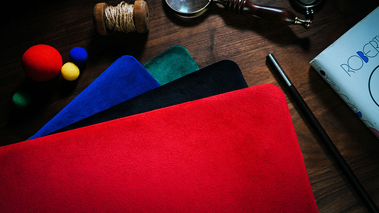 Suede Leather Large Pad (Red) by TCC