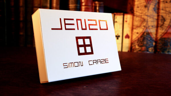 JENZO White by Simon Craze