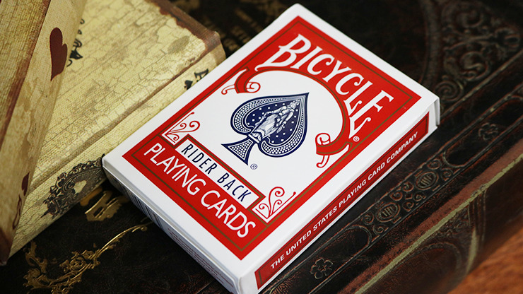 Bicycle Svengali Deck Red (Queen of Hearts)