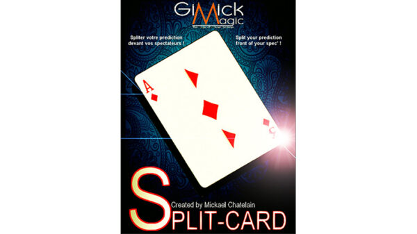 SPLIT-CARD (Blue) by Mickael Chatelain
