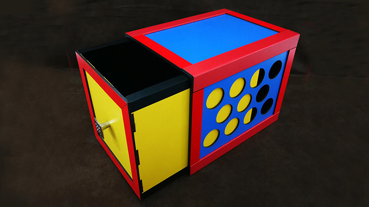 DRAWER BOX WITH HOLES (COLORFUL) by Tora Magic