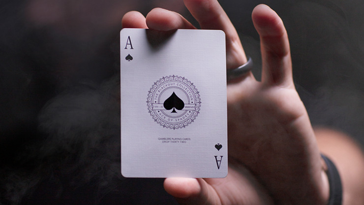 Gambler's Playing Cards (Borderless Black) by Christofer Lacoste and Drop Thirty Two