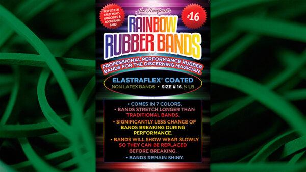 Joe Rindfleisch's SIZE 16 Rainbow Rubber Bands (Marcus Eddie - Green Pack ) by Joe Rindfleisch