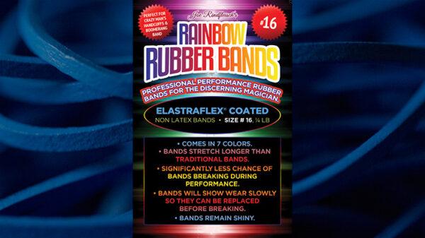 Joe Rindfleisch's SIZE 16 Rainbow Rubber Bands (Hanson Chien - Blue Pack) by Joe Rindfleisch