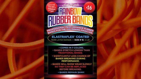 Joe Rindfleisch's SIZE 16 Rainbow Rubber Bands (Daniel Garcia - Orange Pack ) by Joe Rindfleisch