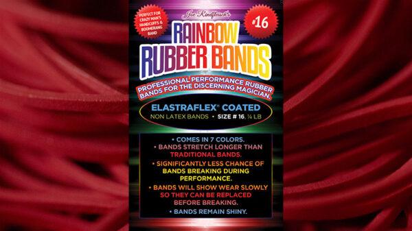 Joe Rindfleisch's SIZE 16 Rainbow Rubber Bands (Joe Rindfleisch - Red Pack) by Joe Rindfleisch