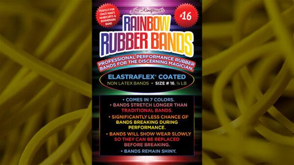 Joe Rindfleisch's SIZE 16 Rainbow Rubber Bands (Russell Leeds -Yellow ) by Joe Rindfleisch