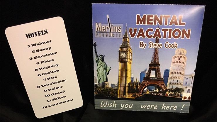 Mental Vacation by Steve Cook & Merlins