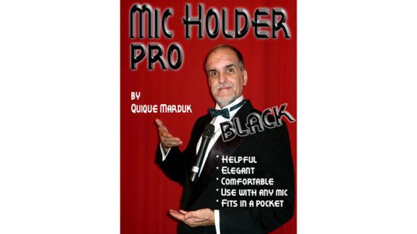 Pro Mic Holder (Black) by Quique marduk