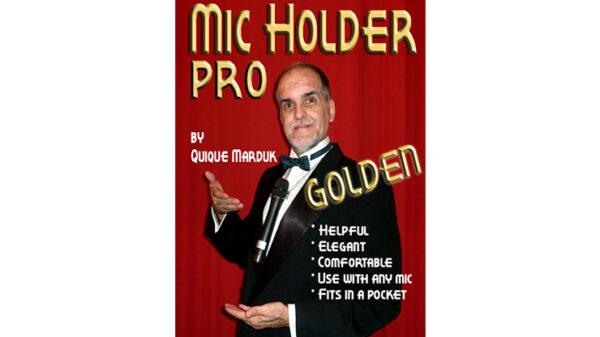 Pro Mic Holder (Golden) by Quique marduk