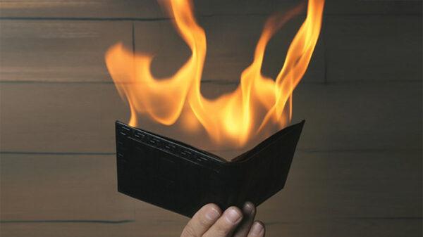 Fire Wallet by Tora Magic