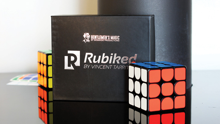Rubiked (Gimmick and App) by Vincent Tarrit