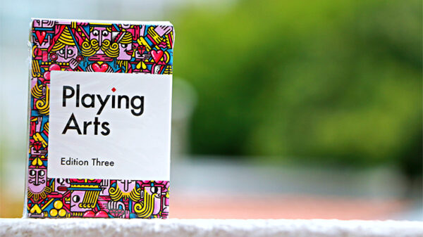Playing Arts Edition Three Playing Cards