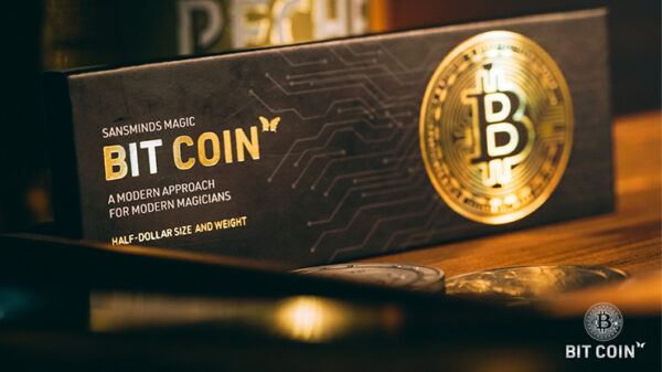 The Bit Coin Silver (3 Gimmicks and Online Instructions) by SansMinds