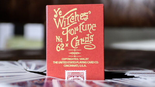 Limited Edition Ye Witches' Fortune Cards (1 Way Back Red Box)