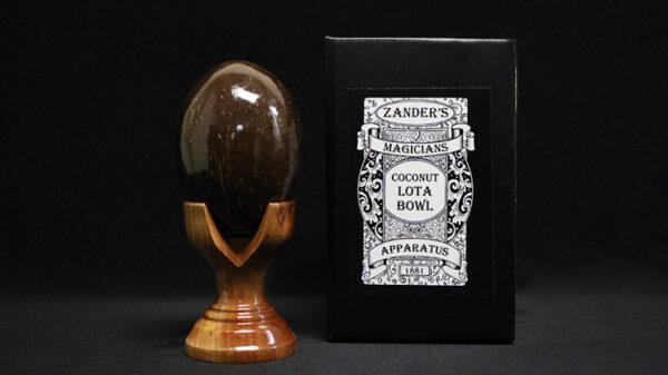 Coconut Lota Bowl by Zanders Magical Apparatus