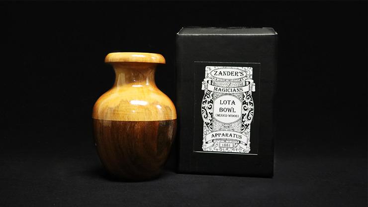 Lota Bowl (Mixed Wood) by Zanders Magical Apparatus