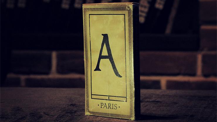 1900 Deck (Alphabet/Marked) by Marchand de Trucs