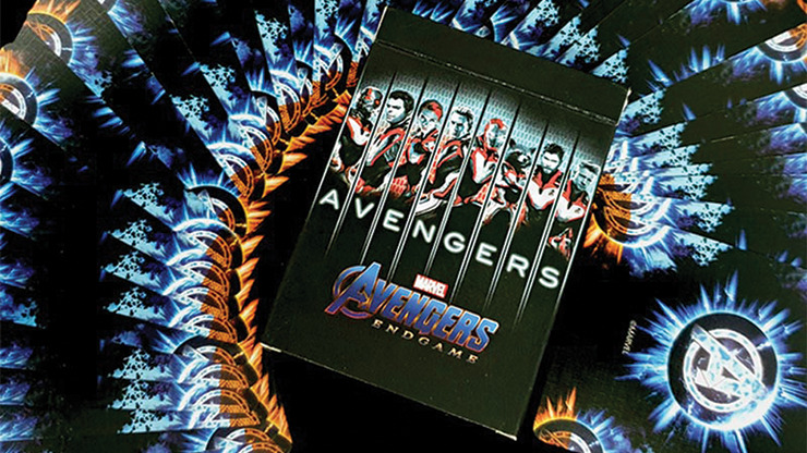 Avengers Endgame Final Playing Cards