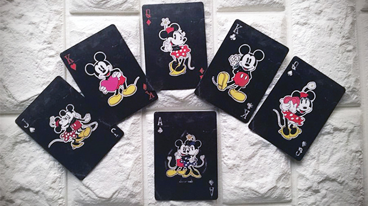 Vintage Mickey Mouse Playing Cards