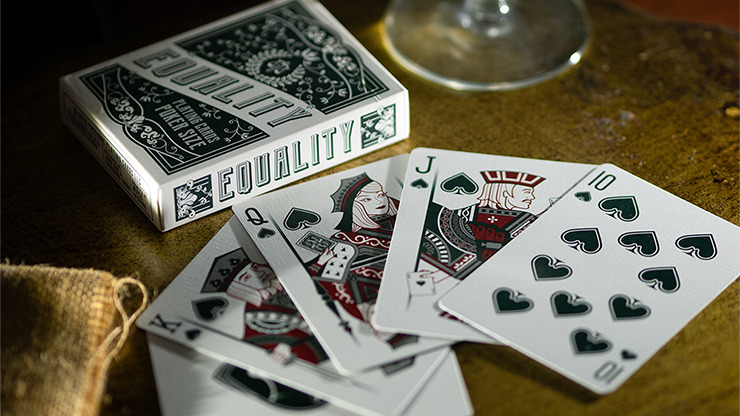 Equality (Green) Playing Cards