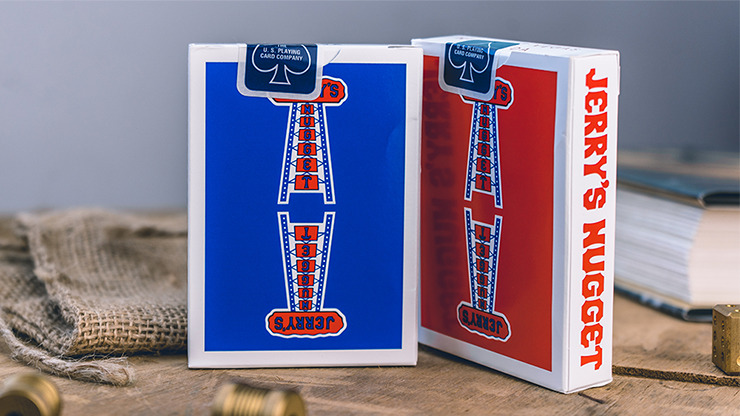 Modern Feel Jerry's Nuggets (Red) Playing Cards