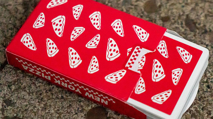 New York Pizza Playing Cards Decks by Gemini