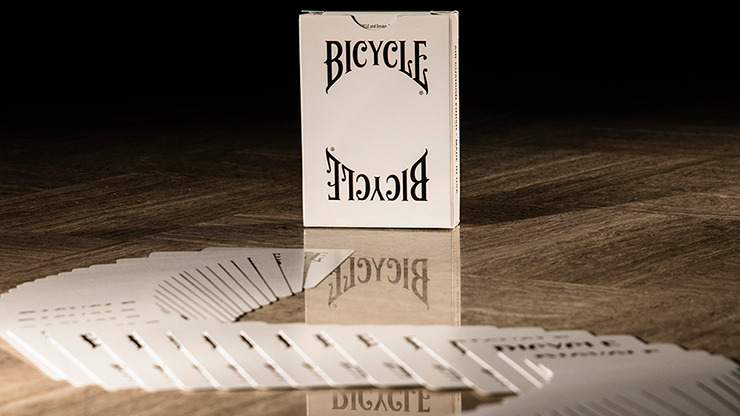 Bicycle Insignia Back (White) Playing Cards