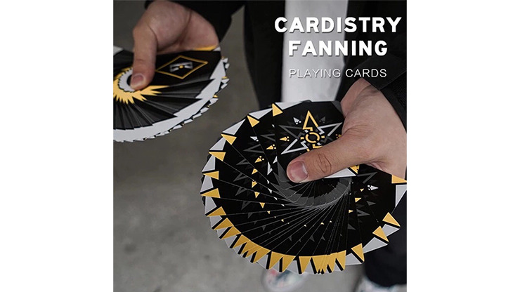 Cardisty Fanning Yellow Edition Playing Cards