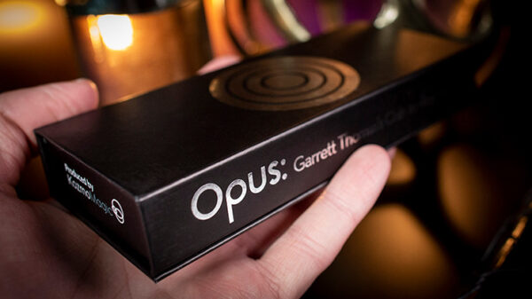 Opus (25 mm Gimmick and Online Instructions) by Garrett Thomas