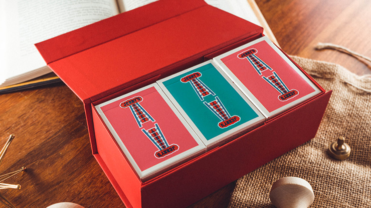 Modern Feel Jerry's Nuggets (Coral) Playing Cards