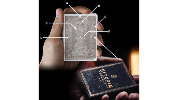 Bitcoin (Black) Playing Cards by Patrick Kun