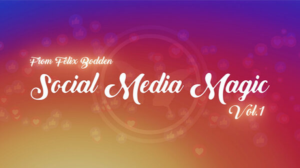 Social Media Magic Volume 1 by Felix Bodden - DVD