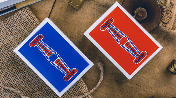 Vintage Feel Jerry's Nuggets (Blue) Playing Cards