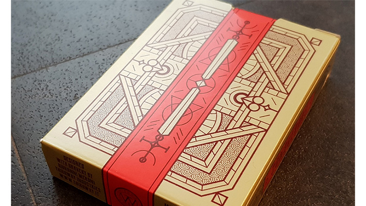 Conquerors Audax Playing Cards by Giovanni Meroni