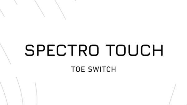 Spectro Touch Toe Switch by Joao Miranda and Pierre Velarde
