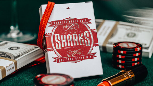 DMC Shark V2 Playing Cards