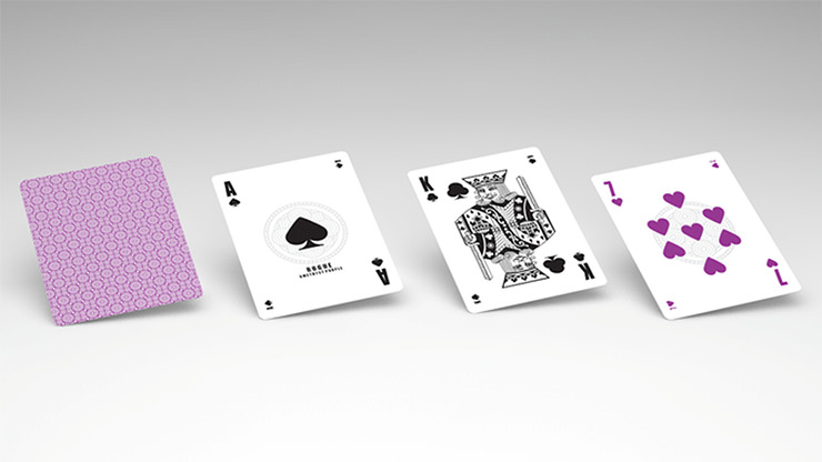 Rouge Amethyst Purple (Marking System) Playing Cards