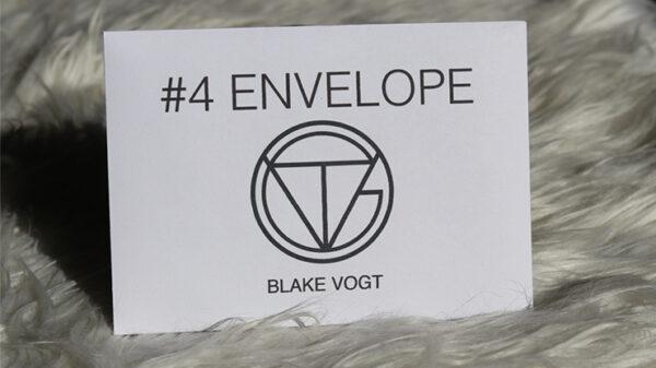 Number 4 Envelope by Blake Vogt