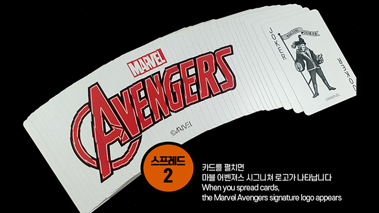 Marvel Avengers Spread Playing Cards