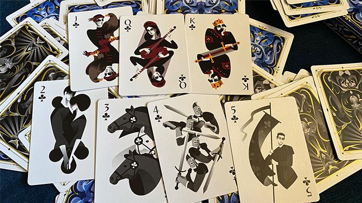 5th Kingdom Semi-Transformation (Player Standard Edition Blue 2 Way) Playing Cards